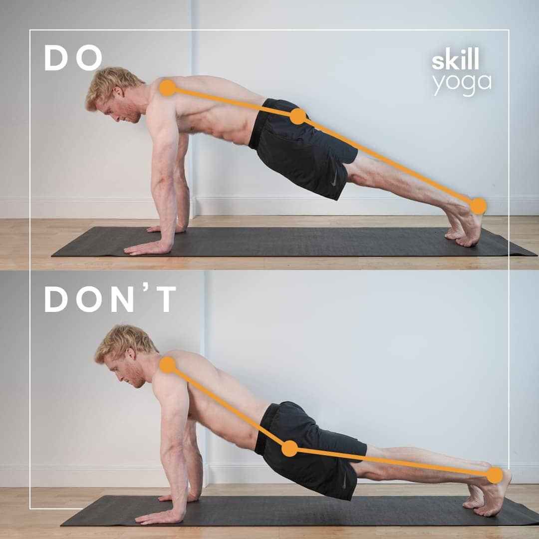 Plank do's and don'ts