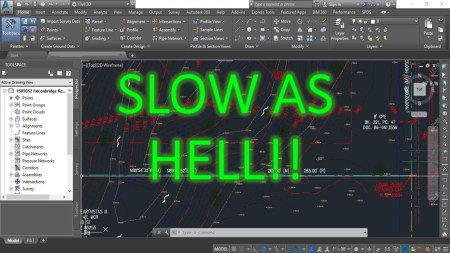 Slow Drawings! (5 Ways to Improve AutoCAD Performance) AutoCAD Tips
