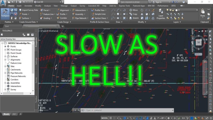 Drawing files SLOW AS HELL! (5 Ways you can Improve your AutoCADs Performance) AutoCAD Tips