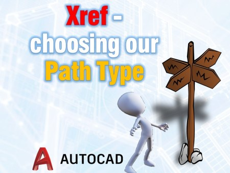 Xref - choosing our Path Type AutoCAD Guides