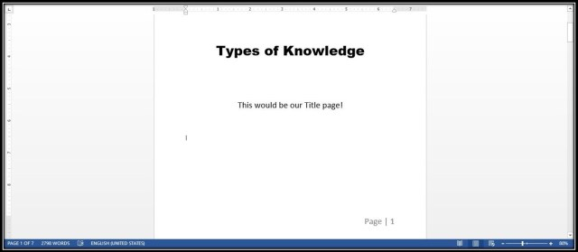 Start page numbering from page 2 or later in your document in Microsoft Word! Microsoft Word