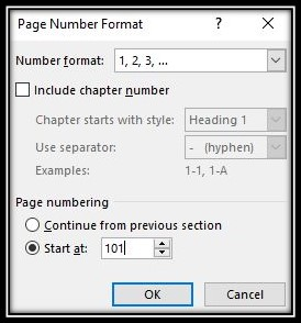 Custom Page Numbering in Microsoft Word! Microsoft Word