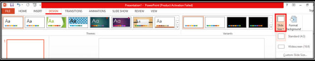 PowerPoint Slide Size. What should I use and how? A 5 minute guide! Microsoft PowerPoint