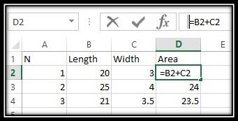 Excel is showing formulas instead of result