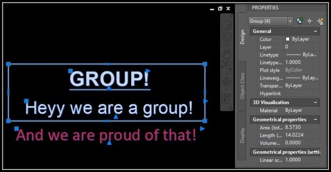 Add Objects to an Existing group!