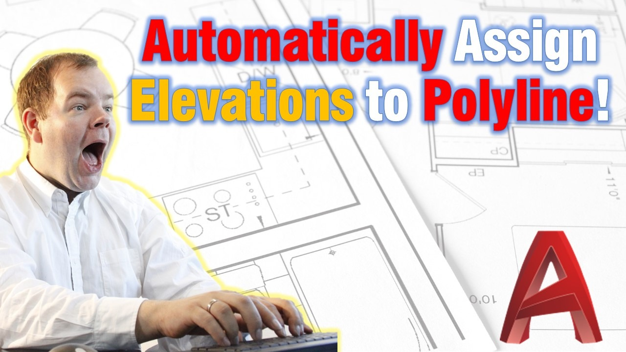 Automatically Assign Elevations to Polyline (Set Elevations to