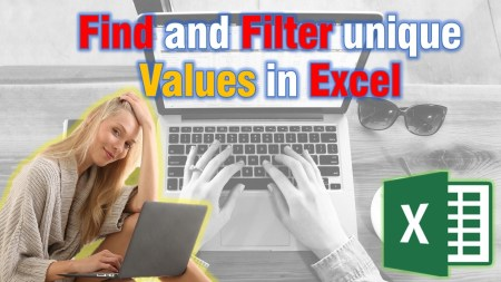 Find and Filter unique Values in Excel (Only 4 Simple Steps!) Microsoft Excel