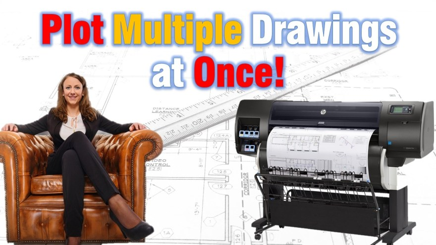 Plot Multiple Drawings at Once (Batch Plot using Sheet Sets!) AutoCAD Guides