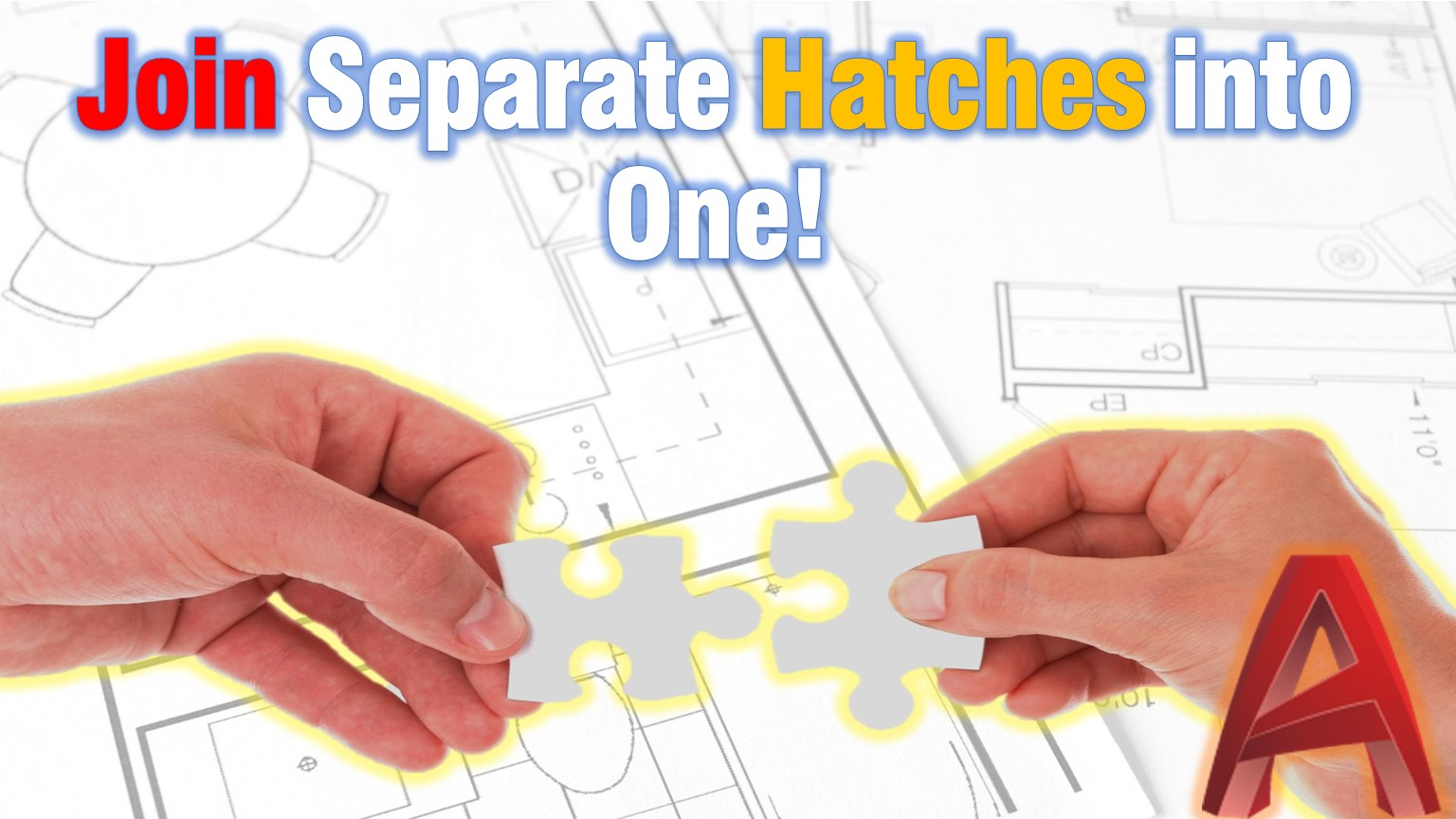 Join Separate Hatches into One (Merge Hatch Objects in AutoCAD!)