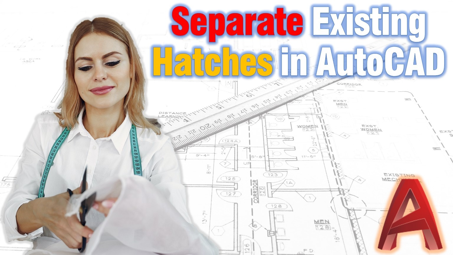 Learn how to Separate Hatch in AutoCAD