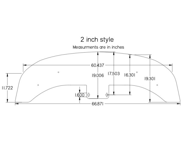 280ZX 2-INCH Front Splitter for Aftermarket Air Dam(s) - specs