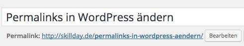 Permalinks WordPress