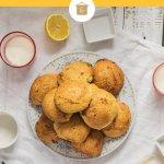 Lemon Cottage Cheese Cookies