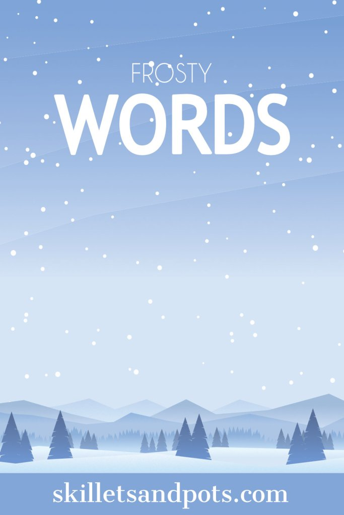 Frosty Word Game