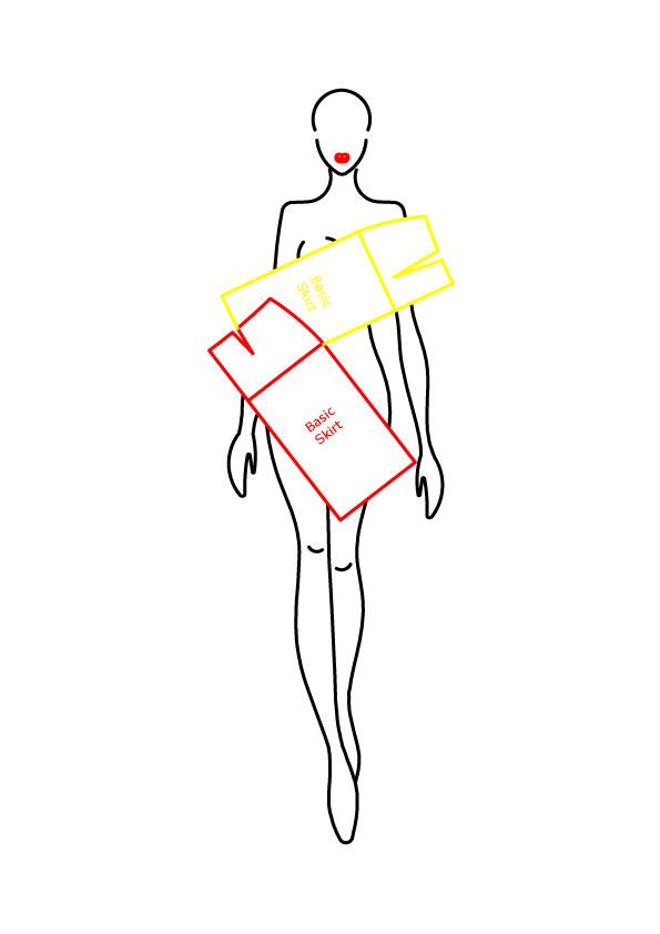 Basic & Straight Skirt – Free Pattern