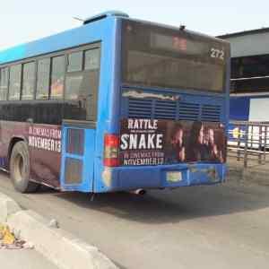 Primero BRT Bus Branding Transit Advertising Lagos Nigeria