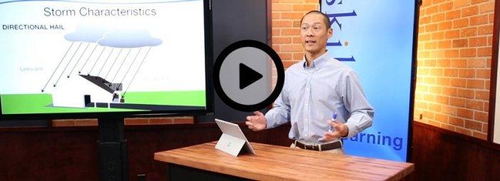 Live video training produced in the SkillQ studio