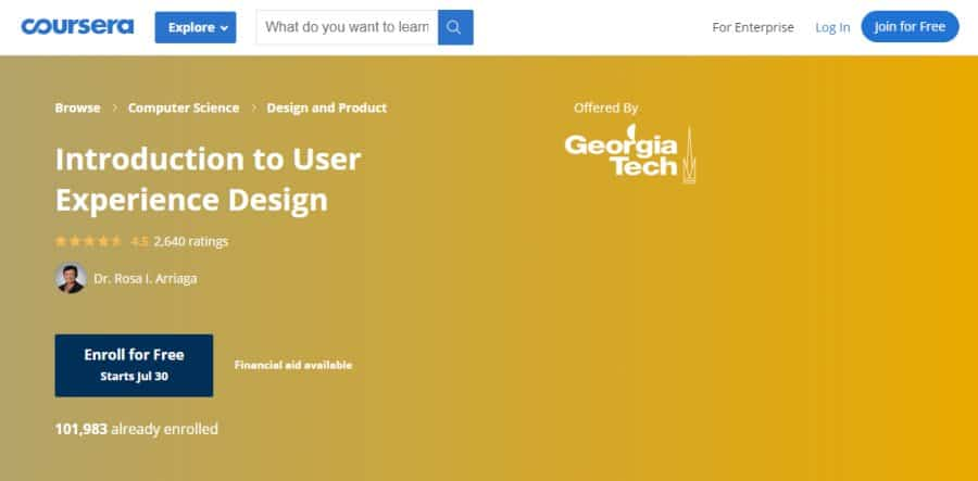 Introduction to User Experience Design