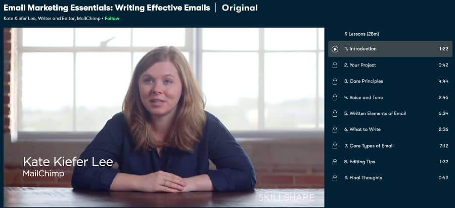 Email Marketing Essentials Writing Effective Emails (Skillshare)
