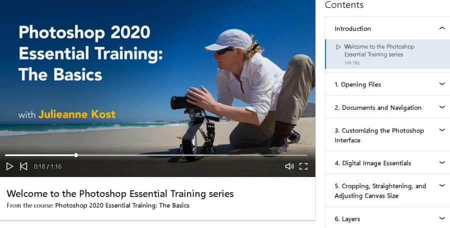 Welcome to the Photoshop Essential Training Series (LinkedIn Learning)