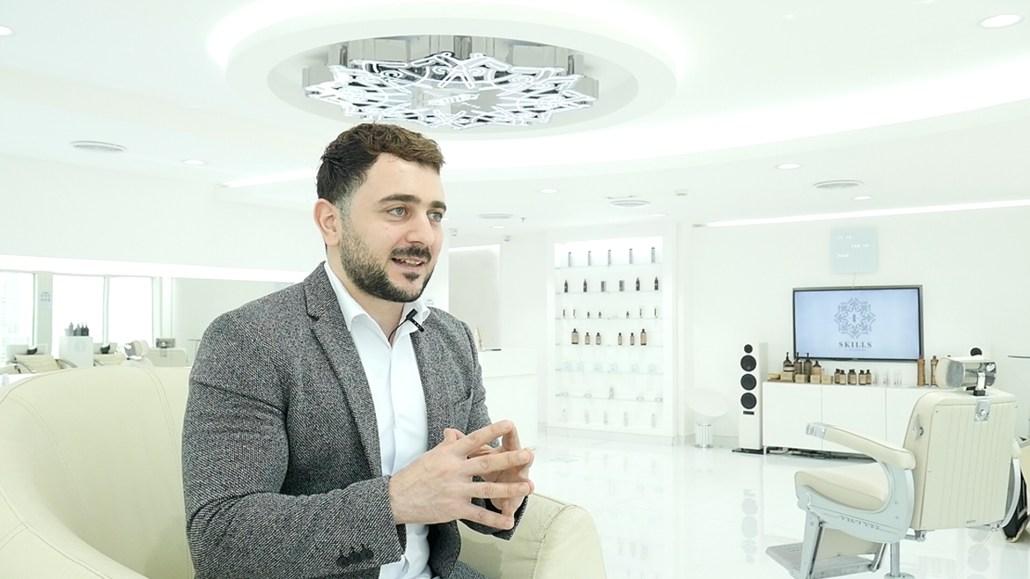 CEO Barber Mo of SKILLS Dubai Barbershop