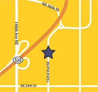 map to Redmond office