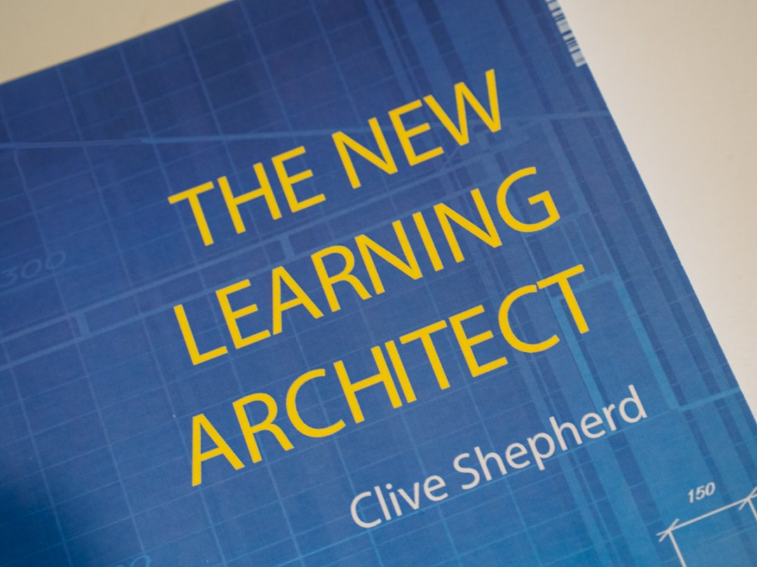 The New learning Architect book cover