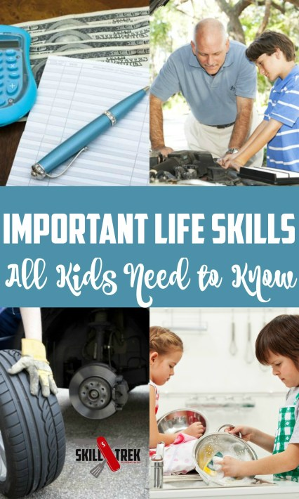 Life Skills are an important to teach our kids. Where do you begin? Here's a list of 10 life skills to help you begin your journey.