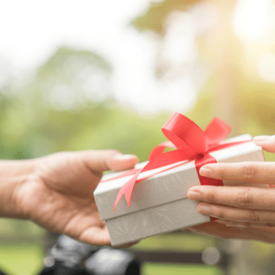How to Accept a Gift Graciously