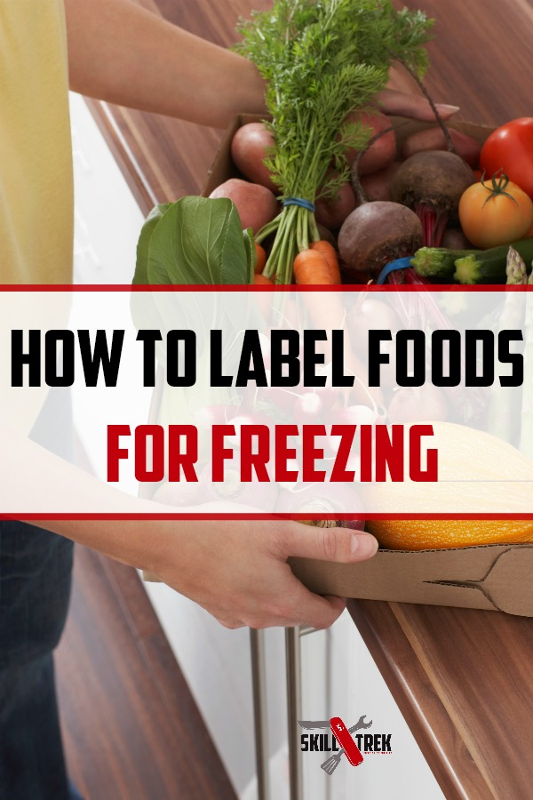 Have you ever pulled something out of the freezer and wondered what it was? When you freeze foods it is important to label correctly. Here are some tips on how to label foods for freezing.