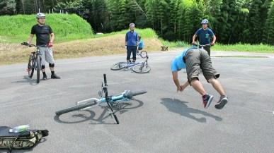 飛ぶ時の『感じ』を自転車を使わずに