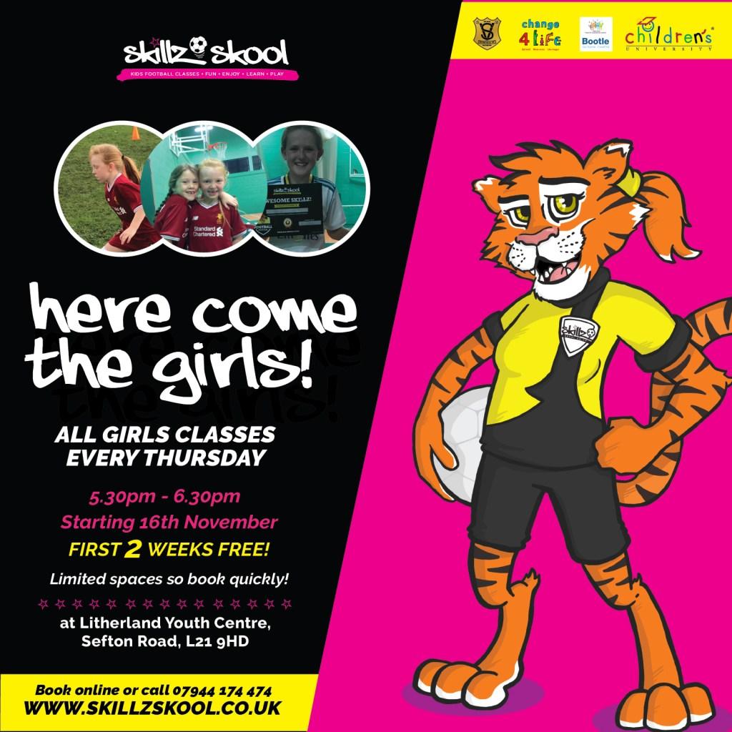 Skillz Skool - Football Classes for kids in Liverpool - Age 3 - 12