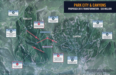 A cozy, cosmopolitan setting for your alpine retreat. Park City Mountain Resort The Canyons Skimap Org