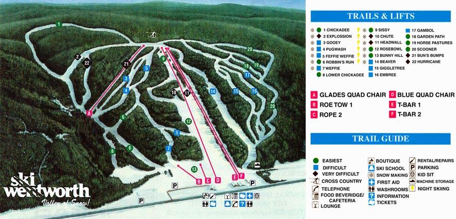 Ski Wentworth  SkiMaporg