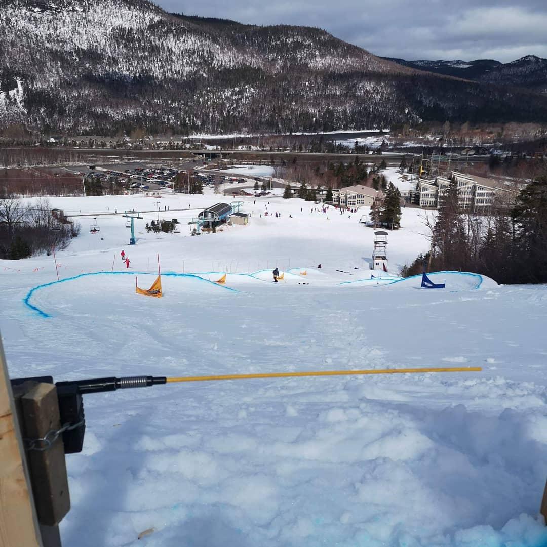 banked slalom 1