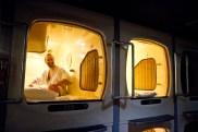 Capsule hotel à Saporro, une chouette experience