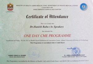 2011 CME Talk Dr Hanish Babu MD