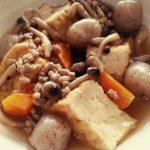 【美肌レシピ】厚揚げの鶏そぼろ煮