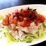 【美肌レシピ】暑い夏に!!トマトと大根のあっさり豚しゃぶ