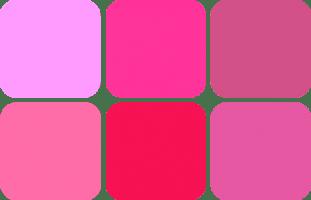 ピンク系肌に「似合う」チーク色