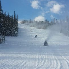 Buy Ski Lift Chair Light Pink Spandex Covers Nakiska Area's Preview Opening Day – Remembrance - Area