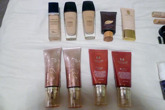 My Foundations & BB Creams
