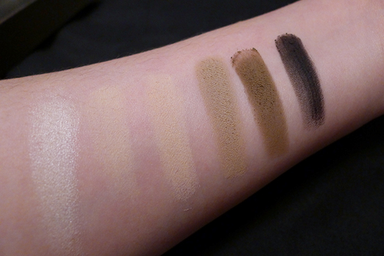 Urband Decay Naked Basics Palette Swatches