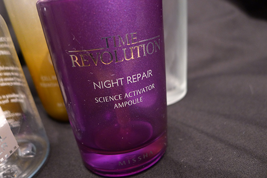 Missha Time Revolution Night Repair Science Activator Ampoule - May 2013 Empties