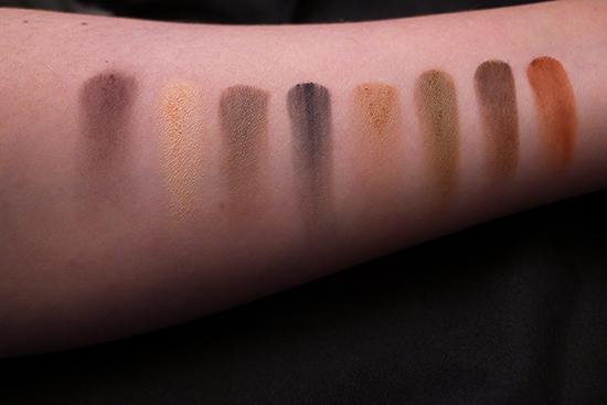 Kat Von D True Romance Eyeshadow Palette - Ladybird  Swatches Swatched