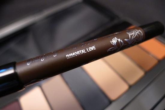 Kat Von D True Romance Eyeshadow Palette - Ladybird - Immortal Love Mini Autograph Eyeliner Pencil