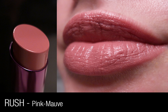 Urban Decay Revolution Lipstick - Rush Swatch