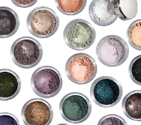 BareMinerals Degrees of Dazzling 20-Piece Eyeshadow Collection