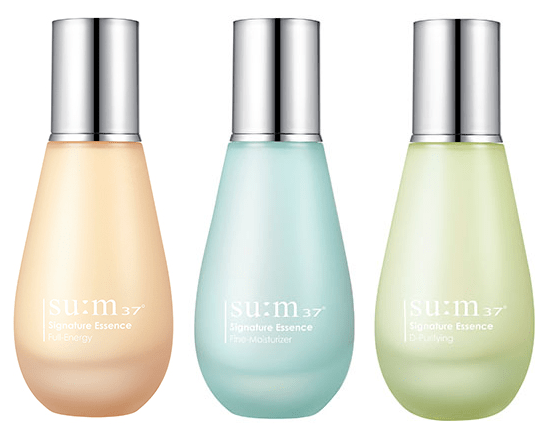 Su:m37 Signature Essence: Full-Energy Essence, Fine-Moisturizer, & D-Purifying Essence
