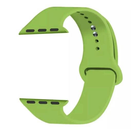 06DAB569 EC18 47A7 A366 A4D6B5BA47D2 Silicon Watch Band for Apple Watch 1, 2, 3, 4, & 5